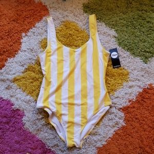 Dubai Banana Split Scoop Swimsuit by Boohoo